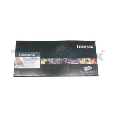 LEXMARK C782 XL PRINT CART BLACK XHY RP TAA